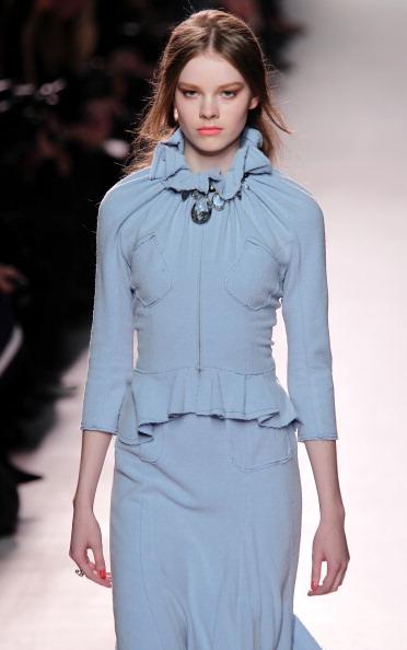 Nina Ricci на тижні моди у Парижі. Фото: PIERRE VERDY/AFP/Getty Images