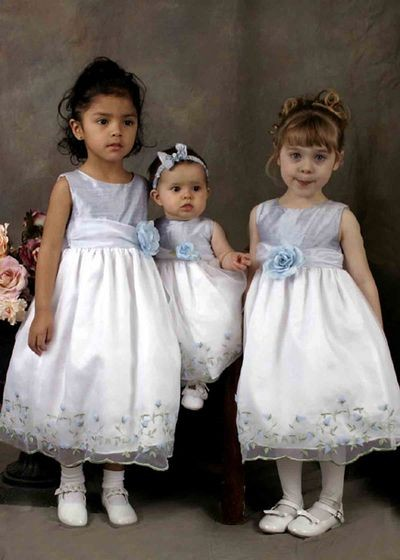 Симпатичные нарядные платьица для девочек.Фото с efu.com.cn