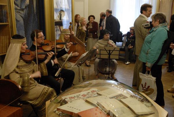 Выставка отреставрированных исторических ценностей открылась в Киеве 28 мая 2008 года. Фото: The Epoch Times