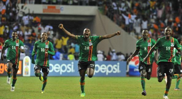 Замбия — Кот-д`Ивуар Фото: ISSOUF SANOGO, FRANCK FIFE /Getty Images Sport