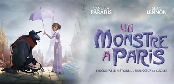 Мультфільм «Монстр у Парижі»