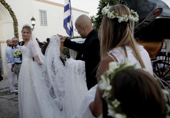 Свадьба принца Греции Николаоса и Татьяны Блаватник. Фоторепортаж. Фото: Chris Jackson/Getty Images