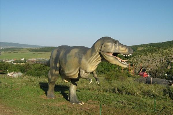 Нерухомий динозавр.Фото:Павло Хулін/The Epoch Times Україна