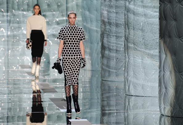 Коллекция Marc Jacobs на Mercedes-Benz Fashion Week. Фото: STAN HONDA/AFP/Getty Images
