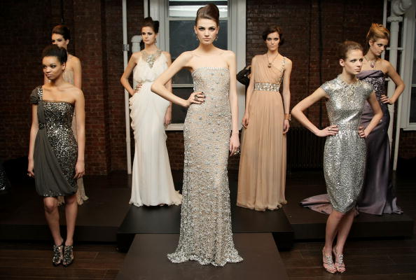 Коллекция Naeem Khan. Фото:Neilson Barnard/Getty Images