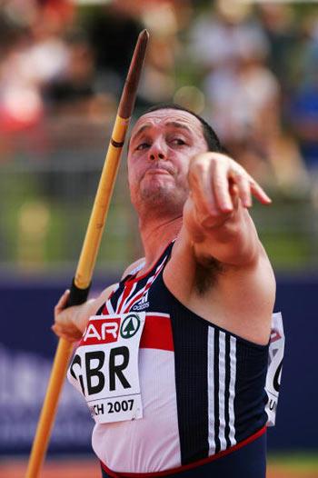 Мюнхен. Германия. Nick Nieland из Великобритании во время Кубка Европы-2007 по лёгкой атлетике.  Фото: Ian Walton/Getty Images