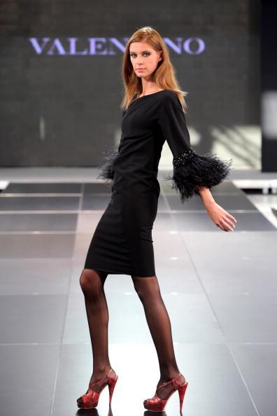 Показ мод від Валентина в Ташкенті. Фото: by Yves Forestier/getty Images