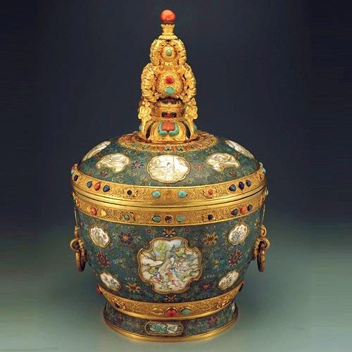 «Фаланчі» з імператорського двору. Фото з culture.qianlong.com