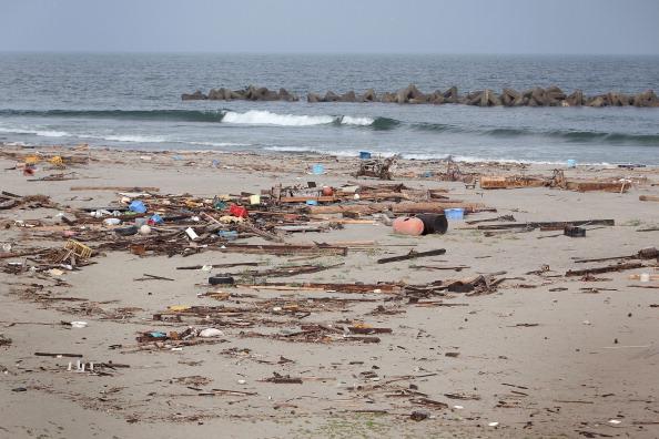Пляж Фуканума, ближайший к г. Сендай, префектура Мияги. Фото: Kiyoshi Ota/Getty Images