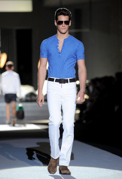 Чоловіча колекція Dsquared2 весна-літо 2010 на Тижні моди у Мілані. Фото: Stefania D''alessandro/getty Images