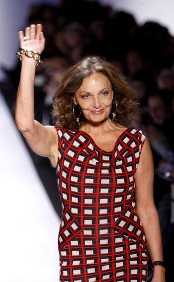 Дизайнер Diane von Furstenberg. Фото: Frazer Harrison/Getty Images