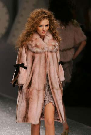 Колекція 'Saga Furs'. Фото: Cancan Chu/Getty Images