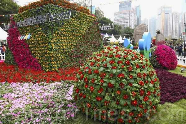 Выставка цветов. Гонконг. Март 2011 год. Фото: The Epoch Times