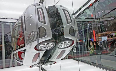 Нова модель Сітроен (Citroen's C-AirPlay). Фото: Scott Barbour/Getty Images
