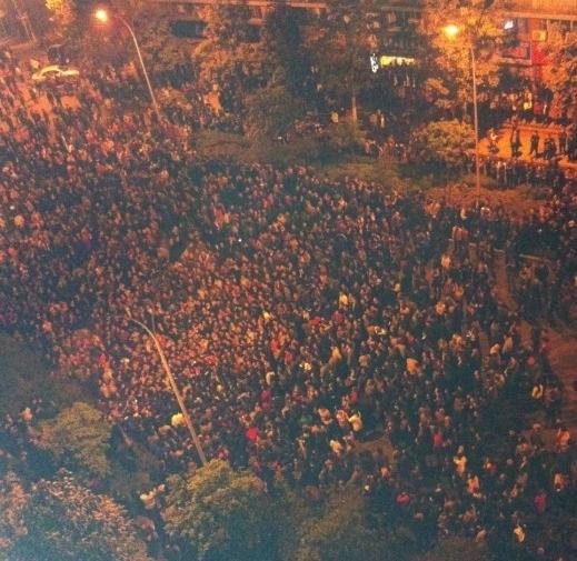 10 апреля многотысячные протесты вспыхнули в городе Чунцин. Фото с epochtimes.com