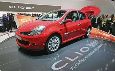 Нова модель Рено (Renault Clio Sport 2.0 16V). Фото: Scott Barbour/Getty Images