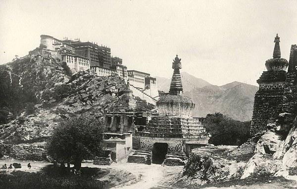 Тибет. 1903 год. Фото с dailymail.co.uк