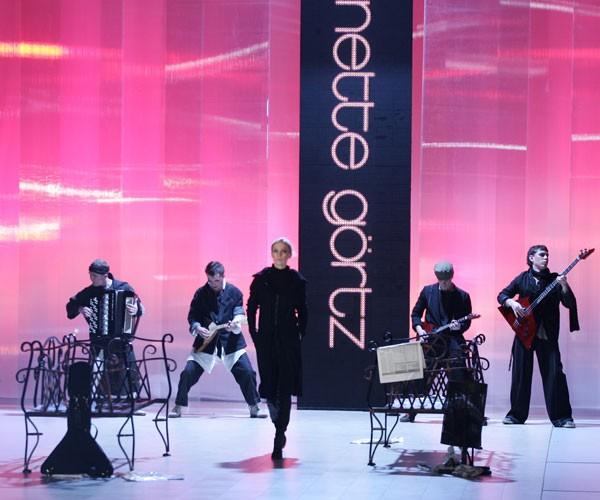 Аннет Гертц пригласила Бряц-Band «озвучить» свою коллекцию. Фото предоставлено: Style Records Ukraine