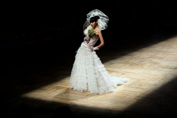 Китайская неделя моды в Пекине. Фото: Feng Li/Getty Images