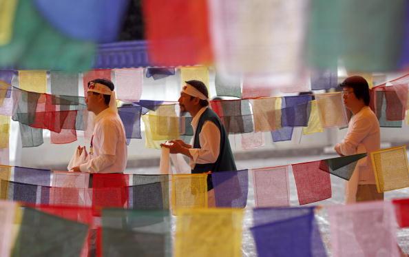 28 марта. Акция в защиту Тибета в Тайване SAM YEH/AFP/Getty Images