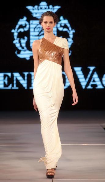 Колекції від Доменіко Вакка і Бріоні на шоу моди у Ташкенті, Узбекистан. Фото Yves Forestier/Getty Images