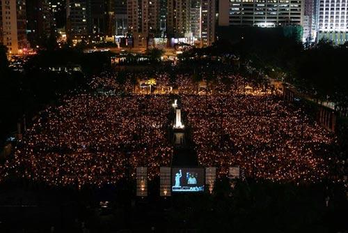 Участники митинга в Гонконге. Фото: MN Chan/Getty Images