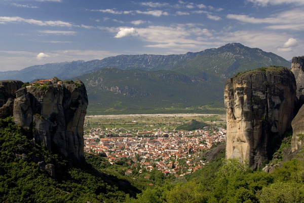 У 1988 році монастирі Метеори були включені до списоку об'єктів всесвітньої спадщини ЮНЕСКО. Фото: Milos Bicanski/Getty Images