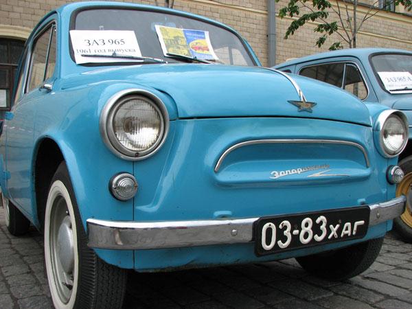 Выставка ретро автомобилей. Фото: Юлия Ламаалем/The Epoch Times