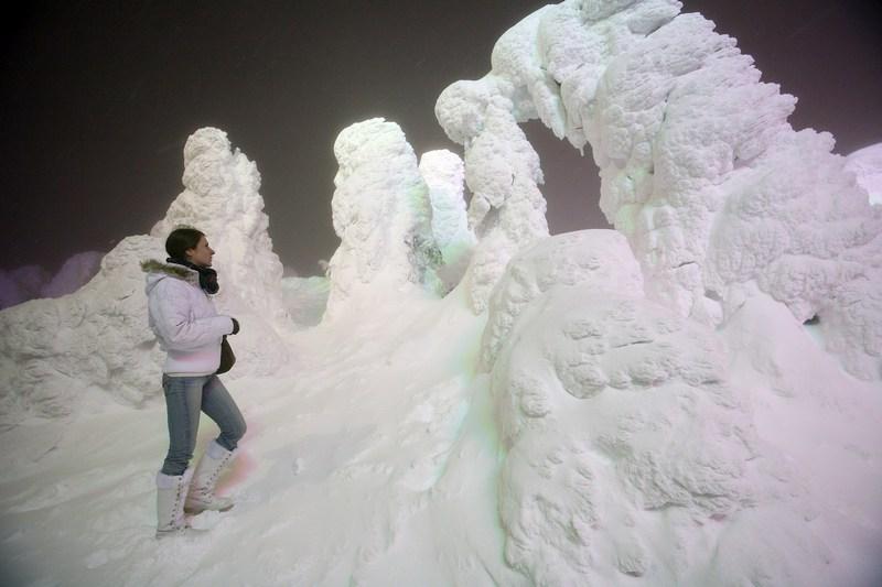 Зимовий пейзаж у Ямагата. Фото: Koichi Kamoshida/Getty Images News
