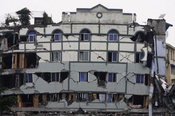 Райони, що потерпіли від землетрусу. Фото з epochtimes.com