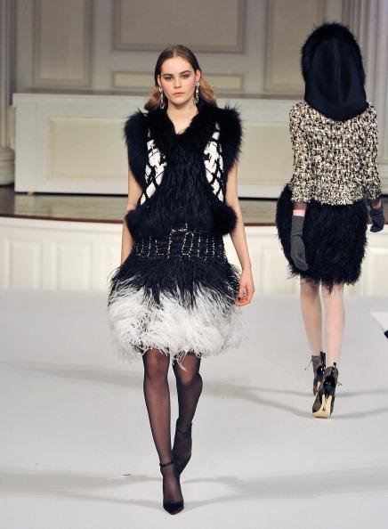 Показ коллекции от Oscar de la Renta на Mercedes-Benz Fashion Week. Фото: Slaven Vlasic/Getty Images