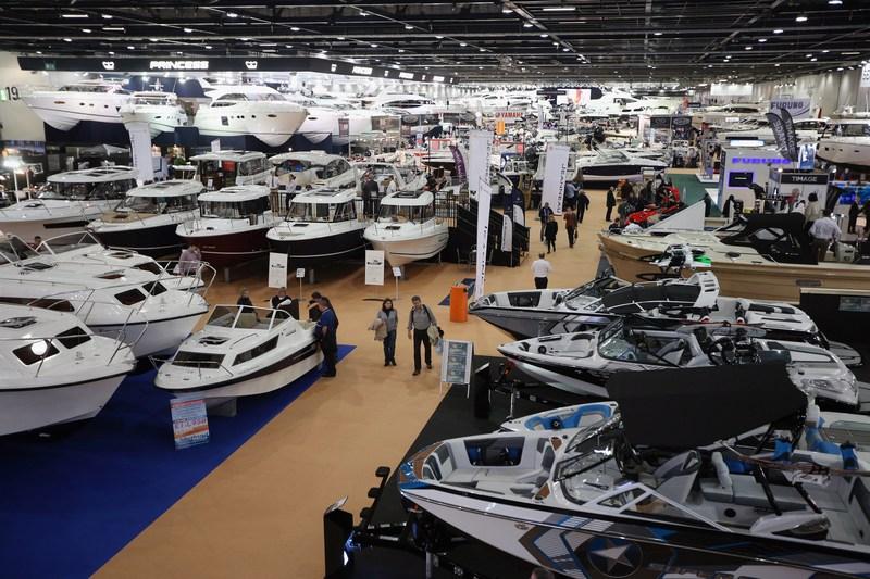 Лондон, Англия, 14 января. В центре ExCeL проводится Международная выставка яхт и катеров. Фото: Oli Scarff/Getty Images