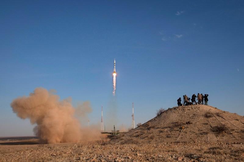 Байконур, Казахстан, 23жовтня. Експедиція 33/34відправилася до МКС. Фото: Bill Ingalls/NASA via Getty Images