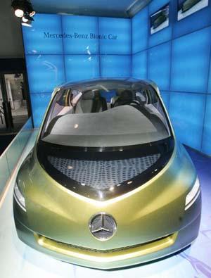 Біологічний автомобіль Мерседес-Бенз. Фото: Mark Renders/Getty Images