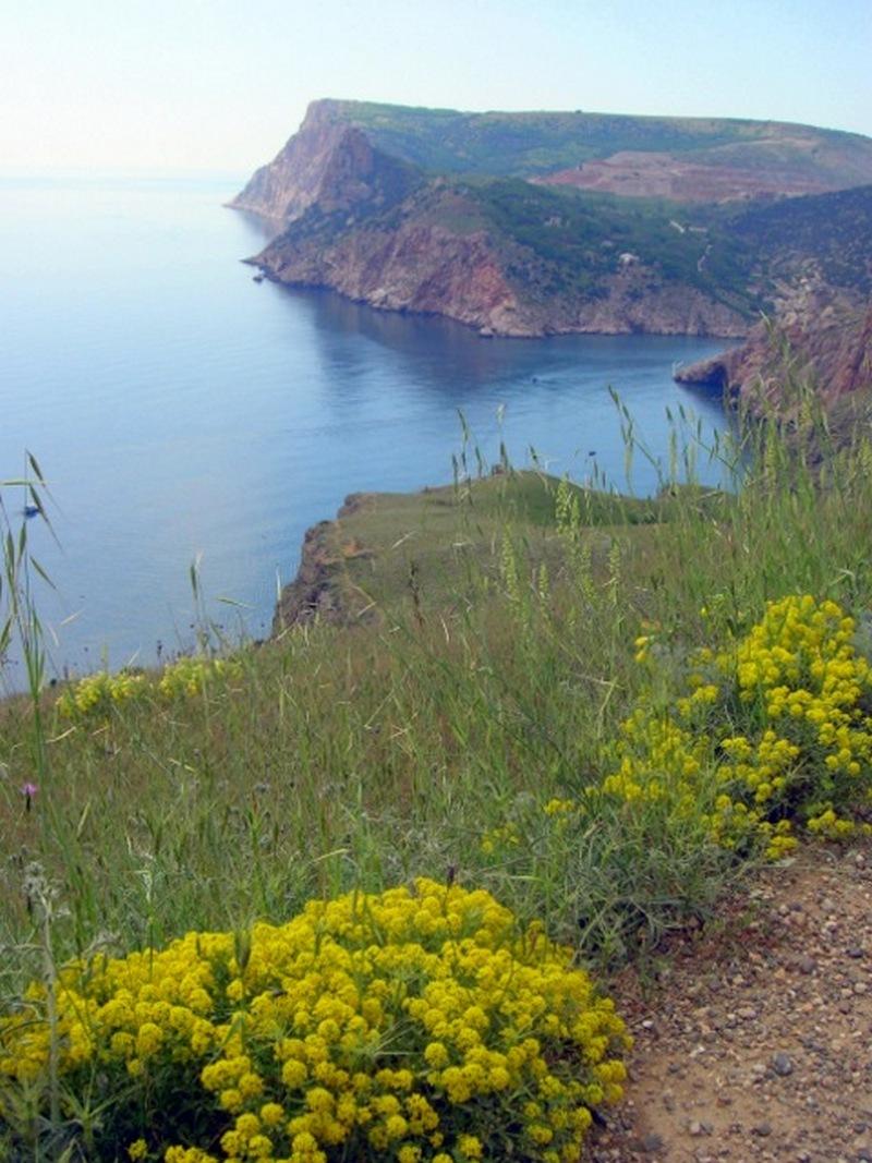 Вид на скелю Мотиль, Балаклава. Фото: Алла Лавриненко/Велика Епоха