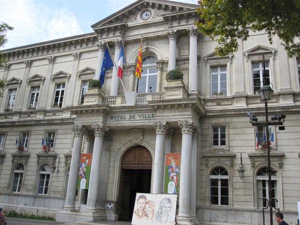 Мэрия города Авиньона, Avignon, FRANCE. Фото: Ирина Лаврентьева/Великая Эпоха