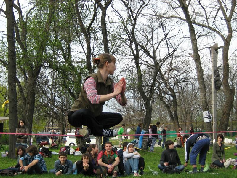 У Дніпропетровську відбувся фестиваль рівноваги і балансу. Фото: Антон Лунін / Велика Епоха