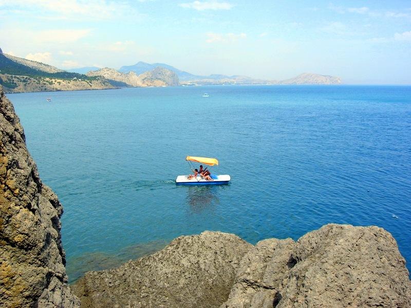 Крым, Новый свет, вид на море с тропы Голицына. Фото: Алла Лавриненко/Великая Эпоха