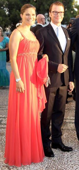 Гості на весіллі принца Греції Ніколаоса і Тетяни Блатнік. Принц і принцеса Вікторія і Даніел зі Швеції. Фоторепортаж. Фото: Chris Jackson / Getty Images