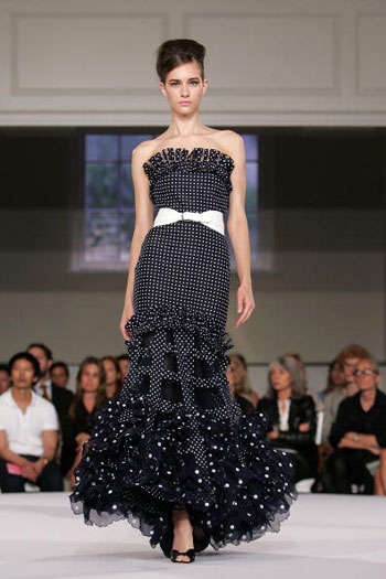 Коллекция Oscar De La Renta 2008 Фото: Bryan Bedder/Getty Images