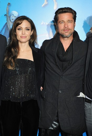 Брэд Питт и Анджелина Джоли. Фото: Pascal Le Segretain/Getty Images