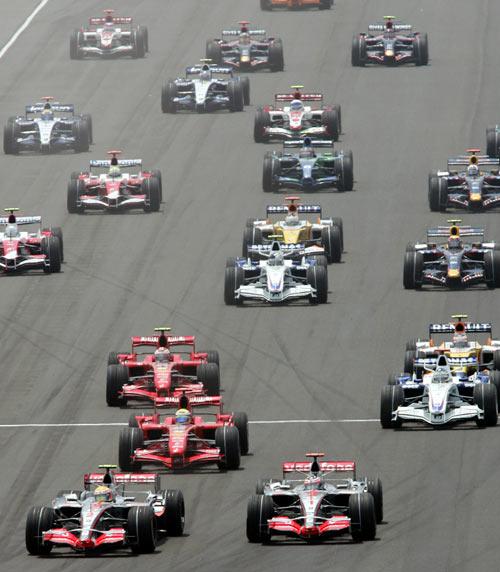Во время седьмого этапа чемпионата мира Формулы-1 – Гран-при США. Фото: DON EMMERT/AFP/Getty Images