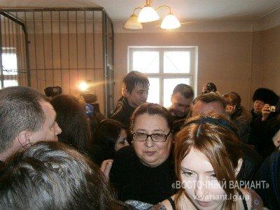 Обвиняемый был отпущен из зала суда. Фото: v-variant.lg.ua