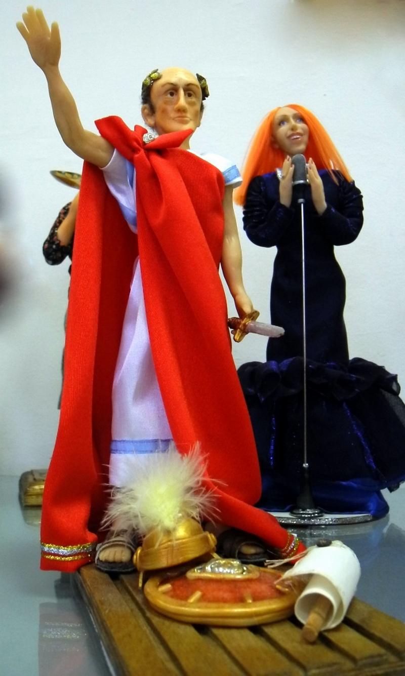 Ляльки, автор І.Мушка. Фото: Алла Лавриненко/The Epoch Times Україна