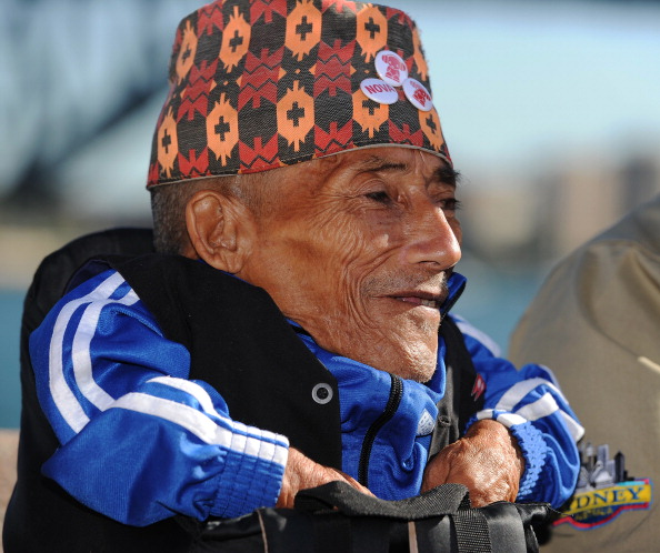 Найменша людина у світі. Фото: GREG WOOD/AFP/GettyImages