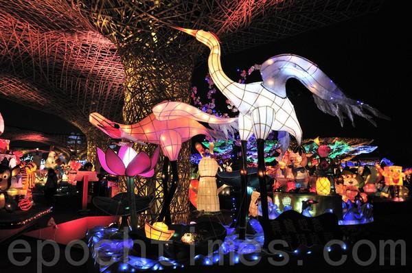Фестиваль фонарей в Тайване. Февраль 2011 год. Фото: The Epoch Times