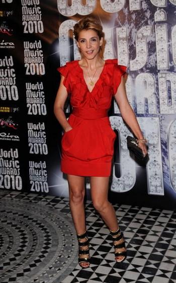 Зіркове вбрання на церемонії нагородження World Music Awards 2010. Фото: Ian Gavan/getty Images