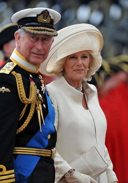 Её Величество Королева Елизавета II празднует 60-ю годовщину своего восшествия на престол. Лондон, Англия. 02 июня 2012 года. Фото: WPA Pool /Getty Images