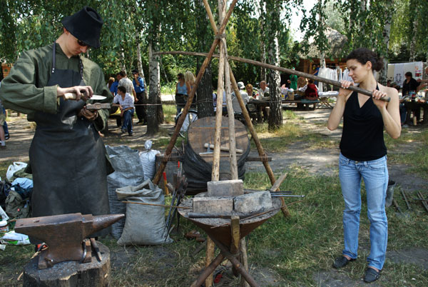 День кузнеца в Пирогово. Фото: Владимир Бородин/The Epoch Times