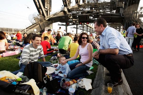 Пікнік на мосту Харбор-бридж в Сіднеї.Фото: Getty Images